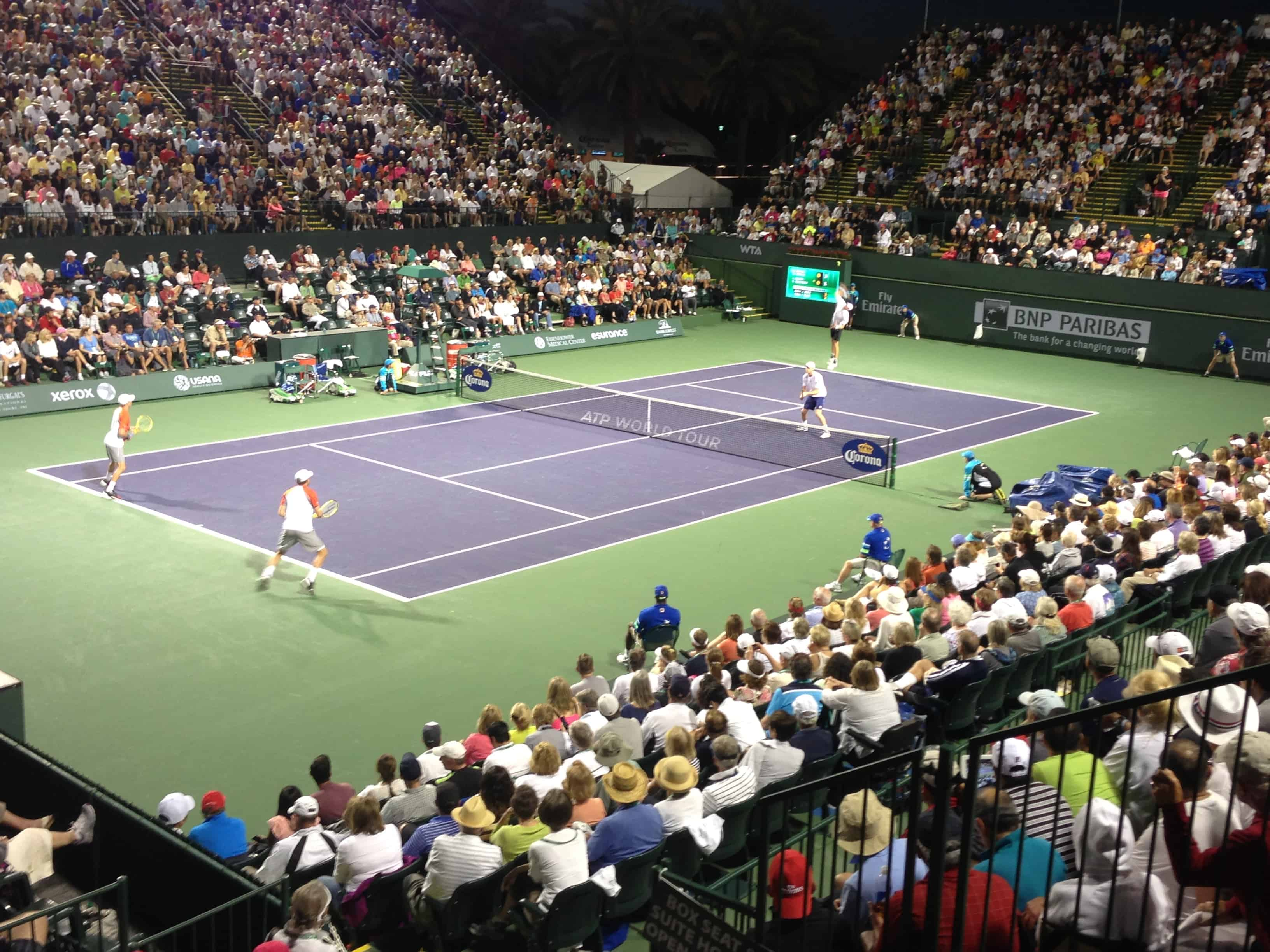 Look for a brand new 8-thousand seat Stadium-2 at the 2014 BNP Paribas Open