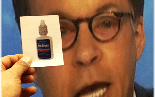Pin the Visine on Bob Costas