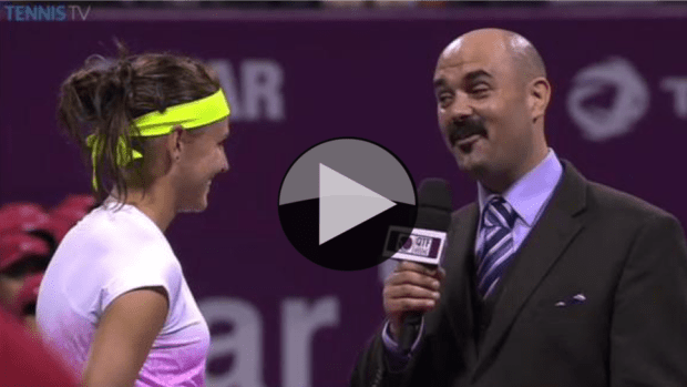 2015 Qatar Total Open Champion. Lucie Safarova