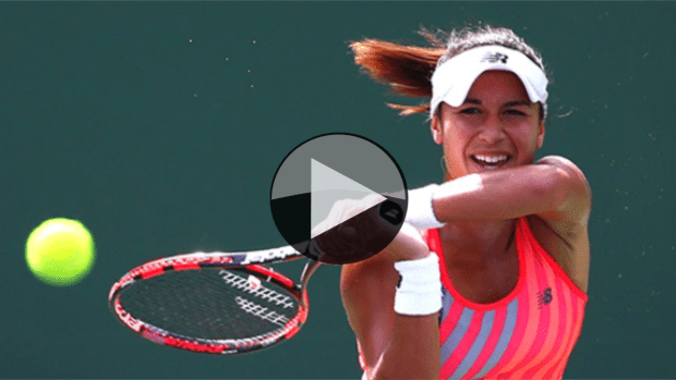 Indian Wells 2015. Heather Watson advances to the Round of 16 with an upset over Agnieszka Radwanska