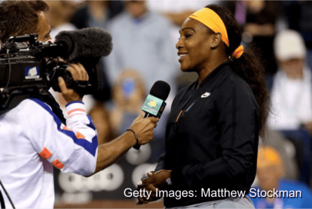 VIDEO: Serena Williams returns to Indian Wells