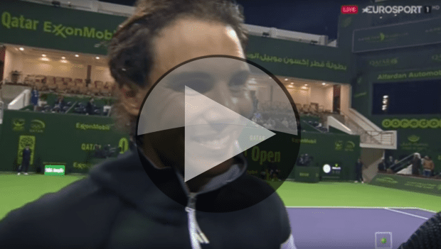 Rafael Nadal: The post-match interview