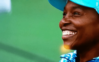 "Venus Williams: ""Not everything can end in a fairy tale. It's already enough of a fairy tale to be here..."""