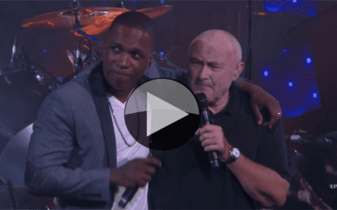 Opening Ceremony. Phil Collins and Leslie Odom, Jr. - Easy Lover