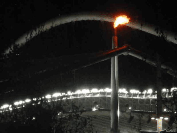 Athens 2004. The Olympic Flame