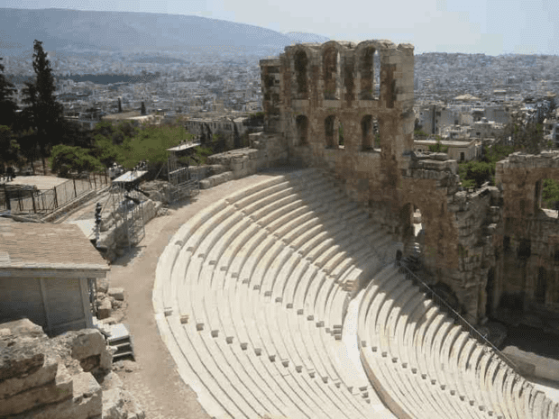 Athens. A view from the Acropolis