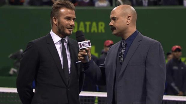 2015. David Beckham