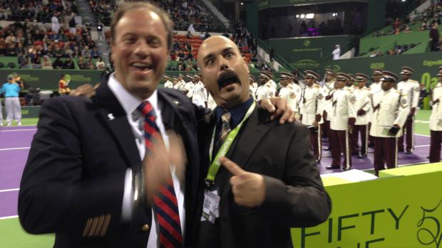 2014. Chair Umpire Emmanuel Messina