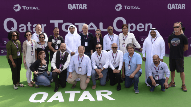 2016. Qatar Total Open Production Team