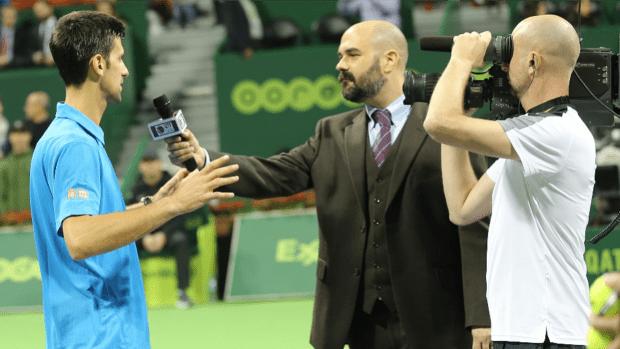 2017. Novak Djokovic. Qatar ExxonMobil Open