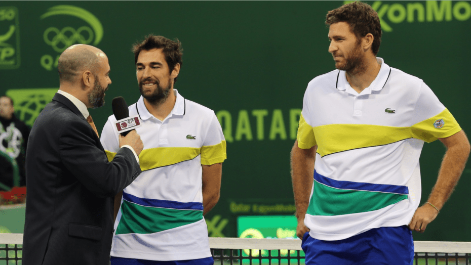 2017. Doubles Champions: Jeremy Chardy and Fabrice Martin