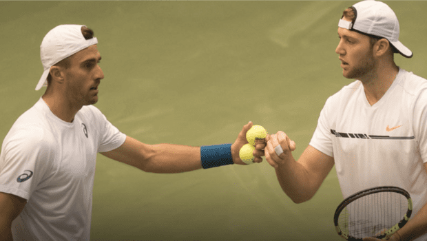 Steve Johnson and Jack Sock clinch the win for Team USA
