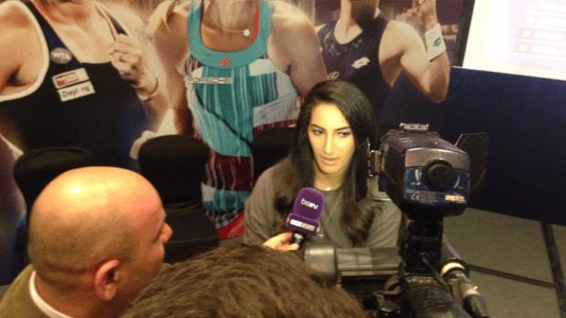 Fatma Al Nabhani. Just reached her 17th career ITF Womens Circuit Singles Final