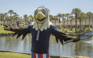ACE is back to show his support for Team USA at Saddlebrook Resort and Spa this weekend