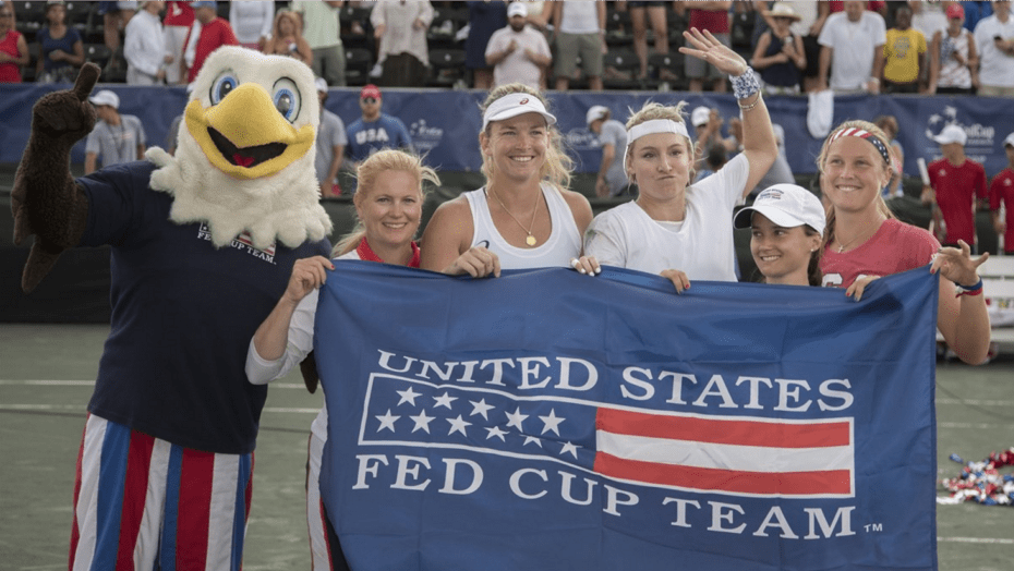 Fed Cup Finalists for the first time since 2010. Bethanie and Coco were anchors in the 2010 loss to Italy. They're fired-up for Belarus in November.