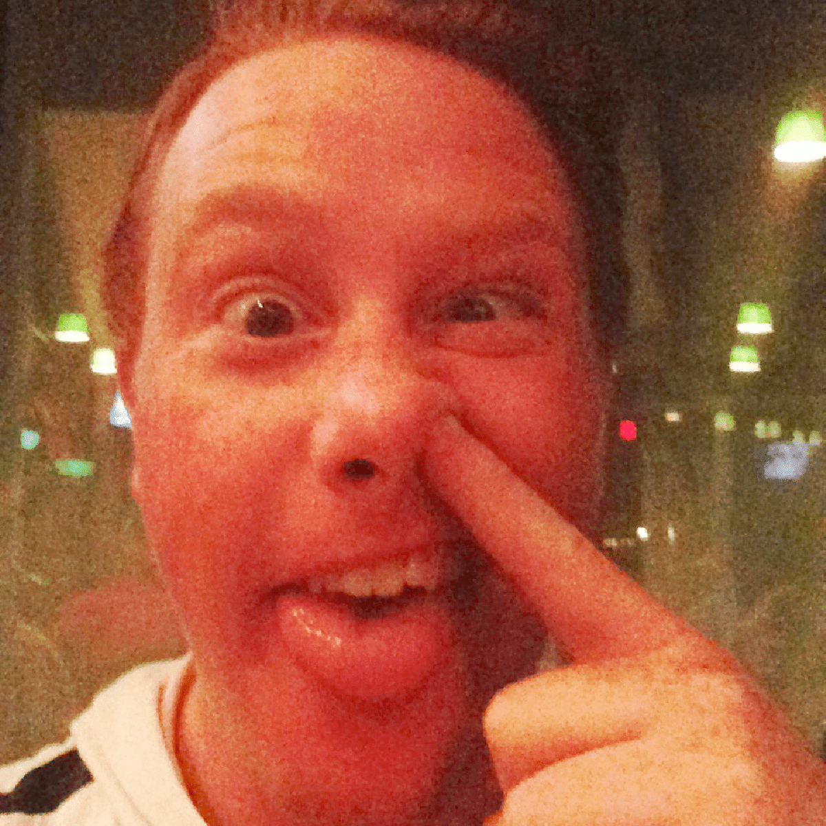 Kenny Siebold as himself, hijacking my phone when I left the dinner table...