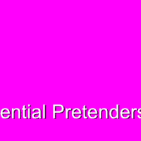 Relish. Influential Pretenders