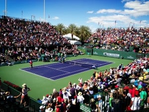 Stadium-2 in Indian Wells. 2013