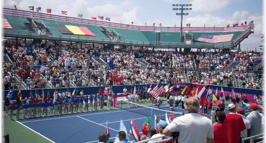 Fed Cup Delray Beach 2013. The Opening Ceremony