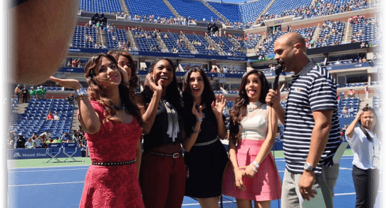 2013 Arthur Ashe Kids Day. Fifth Harmony