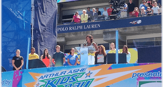 2013 Arthur Ashe Kids Day. Michelle Obama