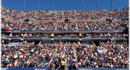 2013 US Open. Record attendance at Arthur Ashe Kids Day