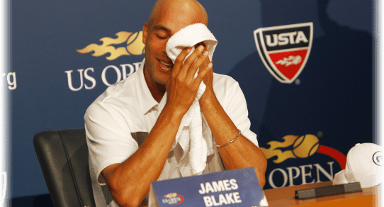 Day one was defined by James Blake's announced retirement...