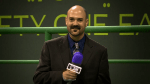 Andy Taylor. Announcer. Voice of Doha