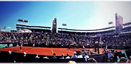 Davis Cup San Diego 2014. Coco Vandeweghe's view