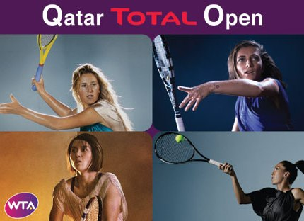 Qatar Total Open 2014. Azarenka, Errani, Li and Jankovic