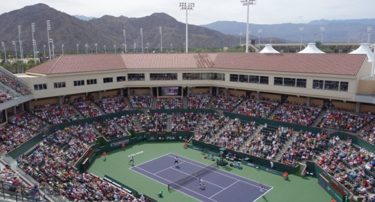 Stadium-2 in Indian Wells. 2014