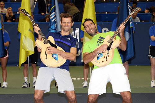 Andy Taylor. Announcer. Mariusz Fyrstenberg and Santiago Gonzalez win the 2015 Memphis Open
