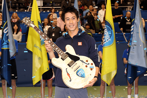 Andy Taylor. Announcer. Kei Nishikori wins the 2015 Memphis Open