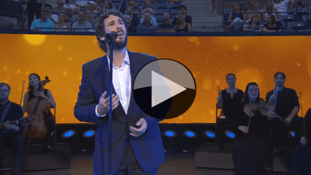 2015 US Open - Opening Ceremony featuring Josh Groban