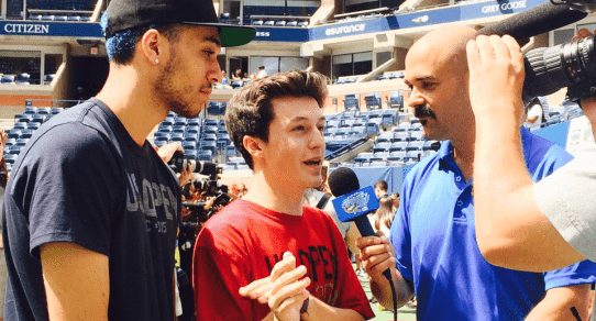 2015 Arthur Ashe Kids Day. Kalin & Myles