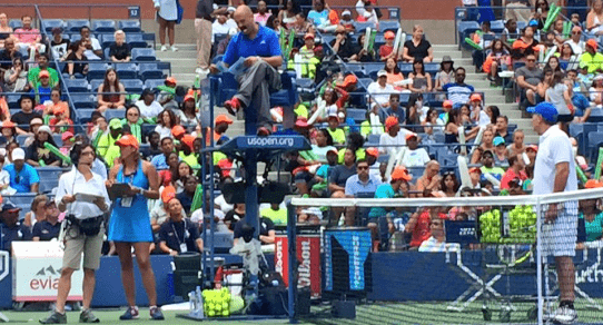 2015 Arthur Ashe Kids Day. The Performance Challenge
