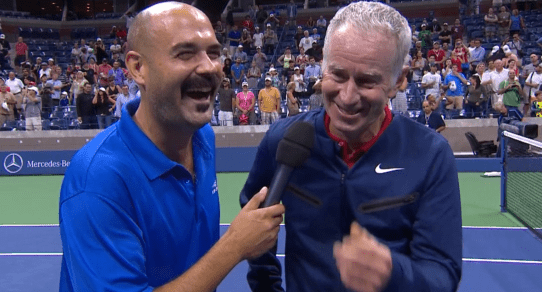 2015 US Open. A Chat with Four Tennis Legends