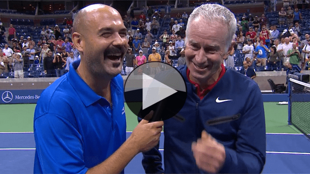 A quick conversation with four legends of the game at the US Open