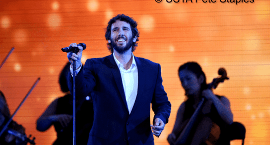 2015 US Open. Opening Ceremony featuring Josh Groban