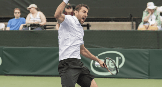 Davis Cup Portland 2016. Marin Cilic keeps the Tie alive with a straight sets win over Isner