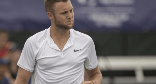 Davis Cup Portland 2016. Jack Sock struggles to find his rhythm against Coric