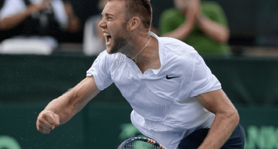 Davis Cup Portland 2016. Jack Sock defeats World #12 Marin Cilic