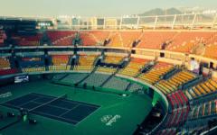 Maria Bueno Olympic Tennis Stadium. Rio de Janeiro