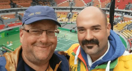 Marius Borning and Andy Taylor. Rio de Janeiro