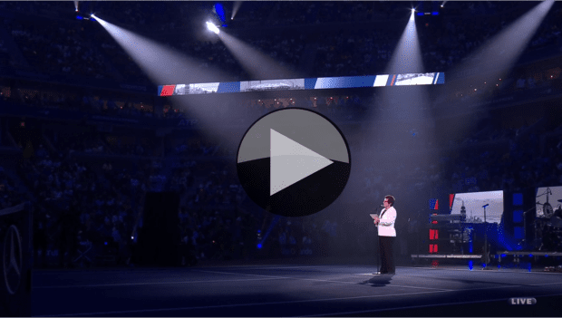 2016 US Open - Opening Ceremony featuring Billie Jean King