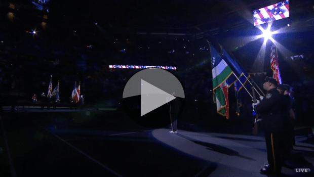 2016 US Open - Leslie Odom Jr. National Anthem Introduction