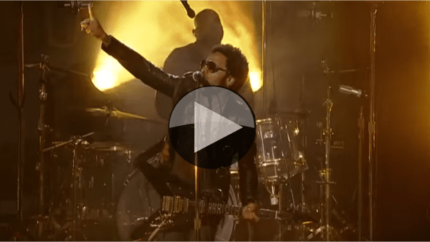 2013 US Open - Opening Ceremony featuring Lenny Kravitz