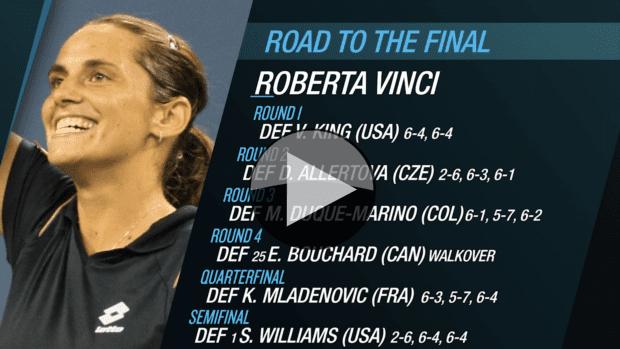 Roberta Vinci. Road to the 2015 US Open Final