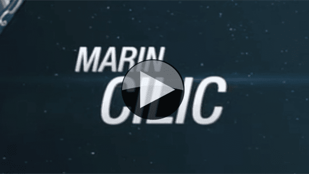 Marin Cilic. Road to the 2015 US Open Semifinal