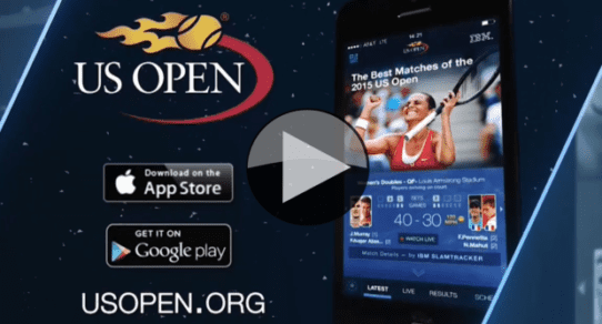 2016 US Open App Television Commercial